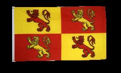 Bandiera Owain Glyndwr Galles reale