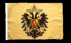 Bandiera Impero austro-ungarico 1815-1915 con orlo