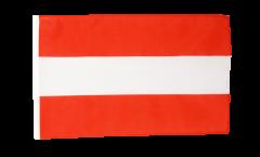 Bandiera Austria con orlo