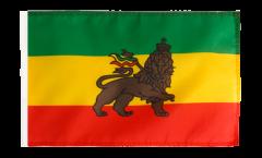 Bandiera Etiopia vecchia con orlo