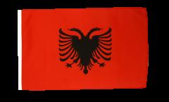 Bandiera Albania con orlo