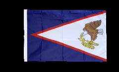 Bandiera Samoa Americane con orlo