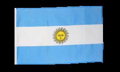 Bandiera Argentina con orlo