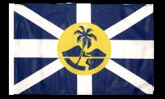 Bandiera Australia Isola di Lord Howe con orlo