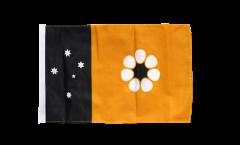 Bandiera Australia Northern Territory con orlo