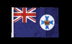 Bandiera Australia Queensland con orlo