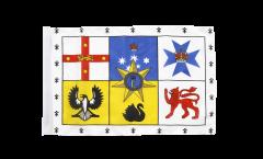 Bandiera Australia reale standard con orlo