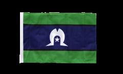 Bandiera Australia Torres Strait Islands con orlo