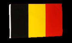 Bandiera Belgio con orlo