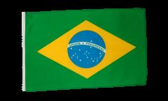 Bandiera Brasile con orlo