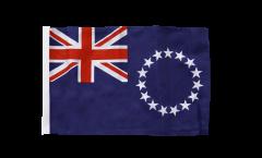 Bandiera Isole di Cook con orlo