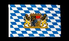 Bandiera Germania Baviera con leone con orlo