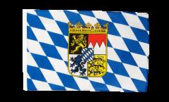 Bandiera Germania Baviera con stemmi con orlo