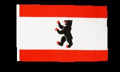 Bandiera Germania Berlino con orlo