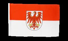 Bandiera Germania Brandeburgo con orlo