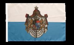 Bandiera Germania Regno di Baviera 1806-1918 con orlo