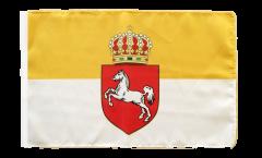 Bandiera Germania Regno di Hannover 1814-1866 con orlo