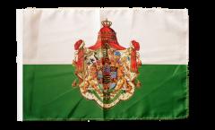 Bandiera Germania Regno di Sassonia 1806-1918 con orlo