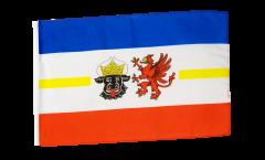 Bandiera Germania Meclenburgo Pomerania con orlo
