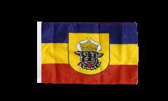 Bandiera Germania Meclenburgo vecchia con orlo