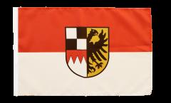 Bandiera Germania Media Franconia con orlo