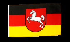 Bandiera Germania Bassa Sassonia con orlo