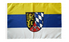 Bandiera Germania Alto Palatinato con orlo