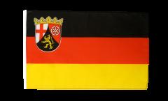 Bandiera Germania Renania Palatinato con orlo