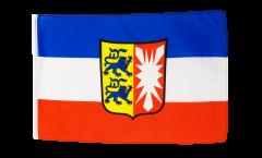 Bandiera Germania Schleswig-Holstein con orlo