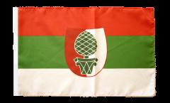 Bandiera Germania Augusta con orlo