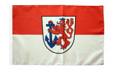Bandiera Germania Düsseldorf con orlo