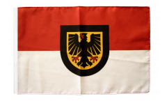 Bandiera Germania Dortmund con orlo