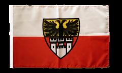Bandiera Germania Duisburg con orlo