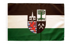 Bandiera Germania Gelsenkirchen con orlo