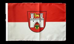 Bandiera Germania Hannover con orlo