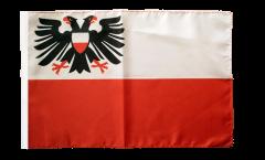 Bandiera Germania Lübeck con orlo