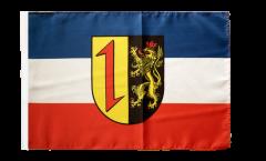 Bandiera Germania Mannheim con orlo