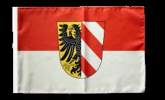 Bandiera Germania Nürnberg Norimberga con orlo