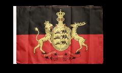 Bandiera Germania Württemberg con orlo