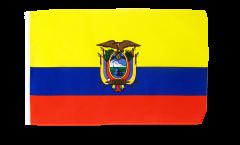 Bandiera Ecuador con orlo