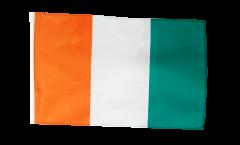 Bandiera Costa d'Avorio con orlo