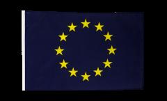 Bandiera Unione Europea EU con orlo
