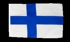 Bandiera Finlandia con orlo
