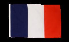 Bandiera Francia con orlo