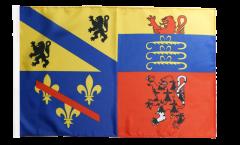 Bandiera Francia Ain con orlo