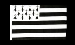 Bandiera Francia Bretagna con orlo