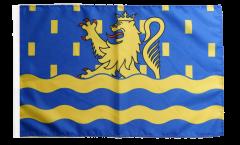 Bandiera Francia Doubs con orlo