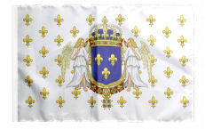 Bandiera Francia Regno 987 - 1791 con orlo