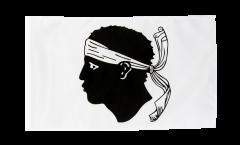 Bandiera Francia Corsica con orlo