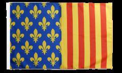Bandiera Francia Lozère con orlo